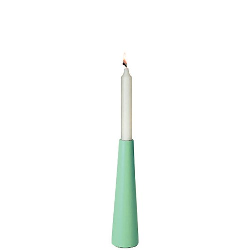 Ljusstake - Siesta, neon, Brook green 23 cm