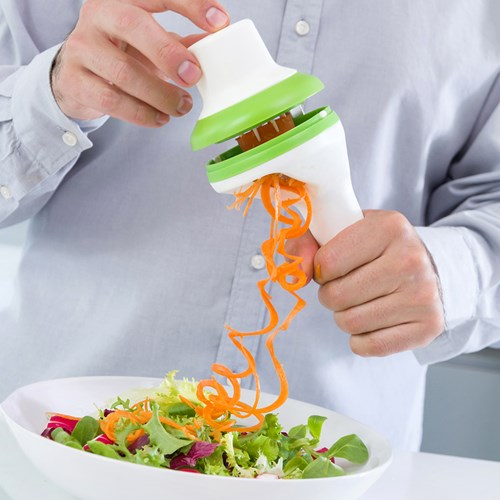 Grönsakssvarv - Spiralizer, Grön