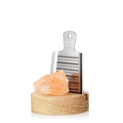 Rivsalt - Rivjärn med saltsten, Litet rivjärn