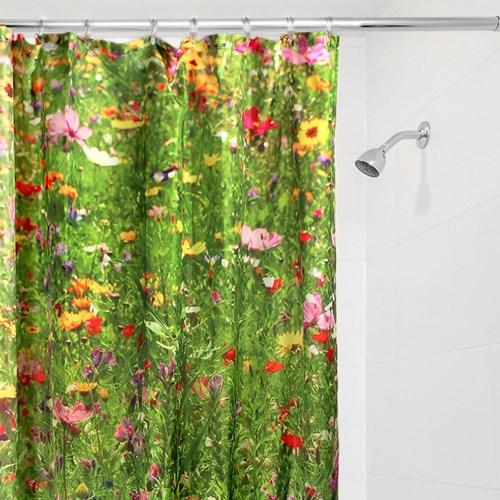 Duschdraperi - Blommor, Multi
