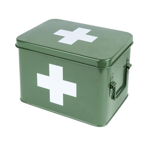 Medicinlåda - Grön, Medium