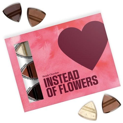 Chokladask - Instead of flowers, Rosa