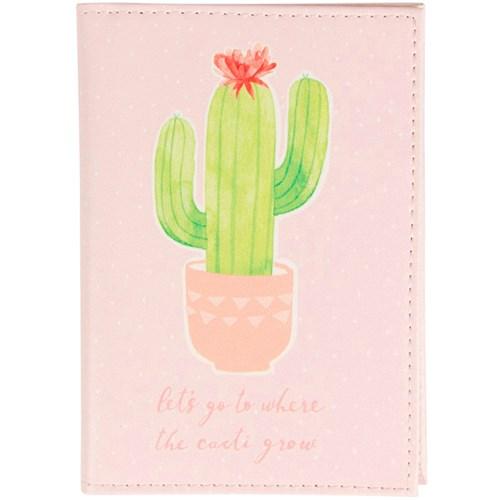 Resetillbehör - Kaktus, Passfodral