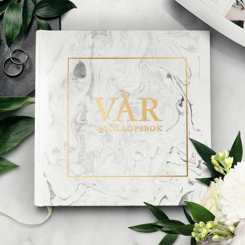 Fyll-i-bok - Vår Bröllopsbok, Vit