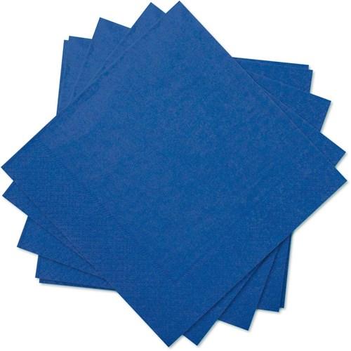 Engångsartiklar till fest, blå, Servetter (20-pack)