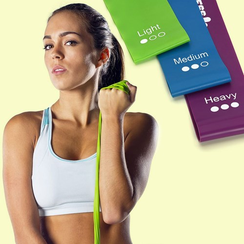 Fitnessband - Resistance band (3-pack), Multi