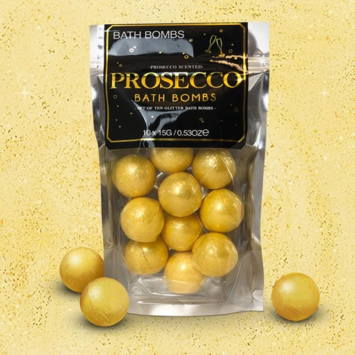 Badbomber - Prosecco (10-pack), Guld