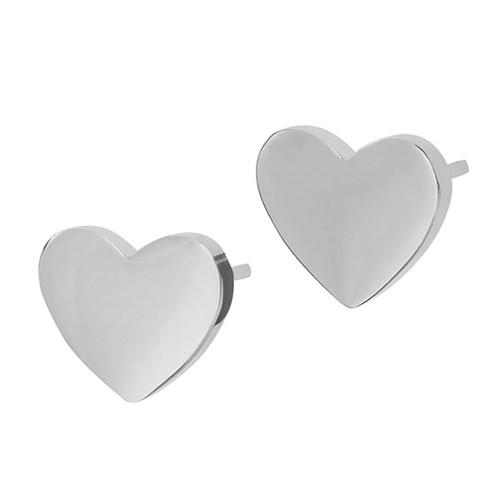 Örhängen Pure Heart, hjärta - Edblad, Stål