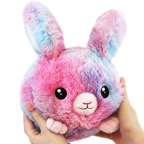 Squishable Gosedjur - Fluffig kanin, rosa, Liten