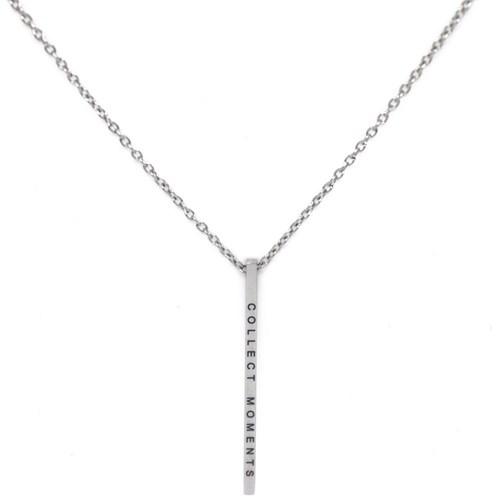 Halsband med budskap - Collect Moments, Silver