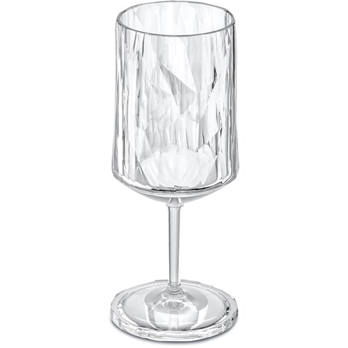 Okrossbara vinglas i plast - Koziol, 1 st