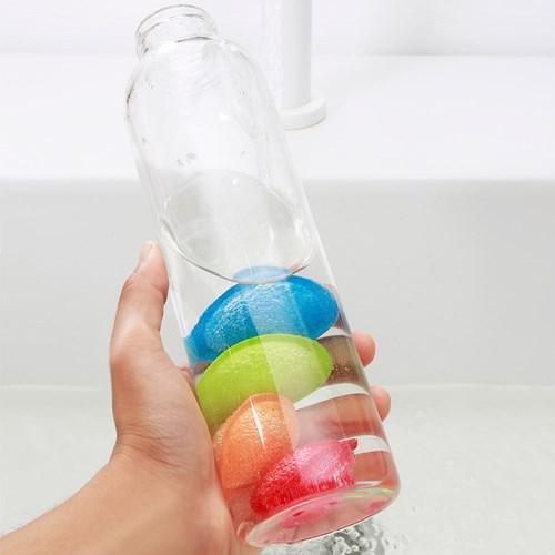 Disksvampar till flaskor - Bottle Scrubbies, Multi
