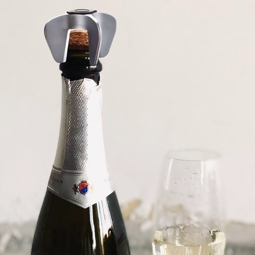 Champagneöppnare, Metall