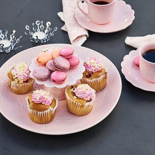 Stort fat - Orient, rosé, Rosa