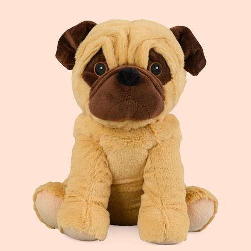 Vetevärmare - Hund gosedjur, Warmies®, Mops