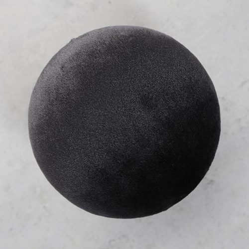Väggknopp i sammet - Black Beauty, Stor