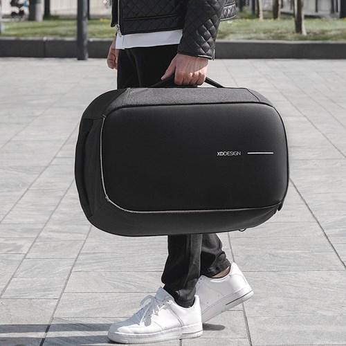 Anti-stöld ryggsäck/resväska - Bobby Duffle, Svart