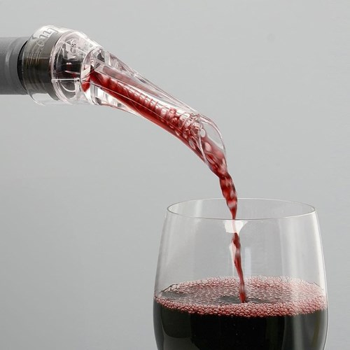 Vinluftare med hällpip - Vinalito, Klar