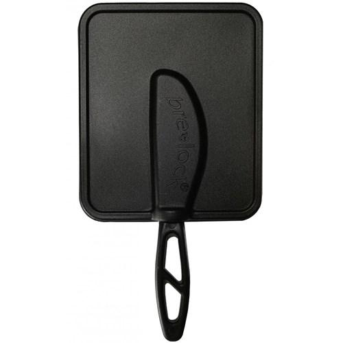 BreLock - Lock med smörkniv, svart, Stor (600 g)