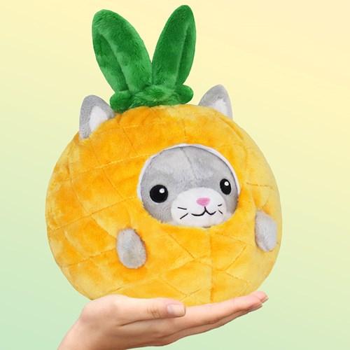Squishable Gosedjur - Katt i ananas, Gul