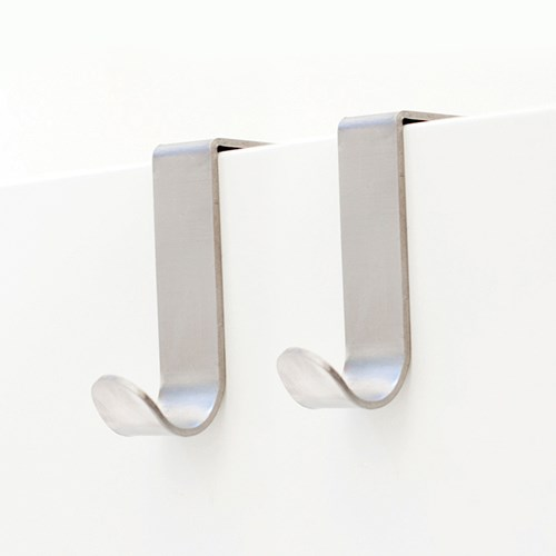 Krok till skåp / låda (2-pack), Metall