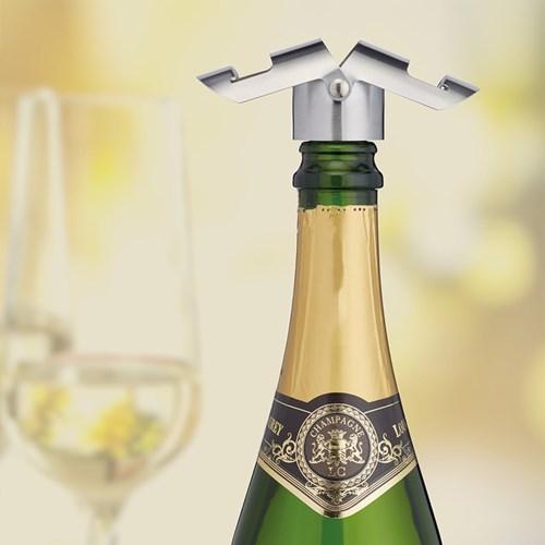 Prosecco & Champagneförslutare, Rostfritt Stål