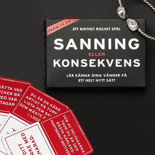 Partyspel - Sanning eller konsekvens, Svart