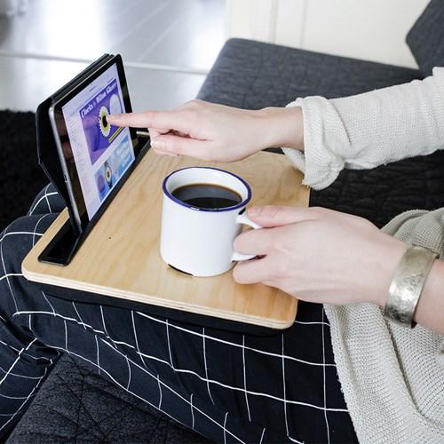 iBed - iPad-bricka / iPad-ställ, trä, Multi