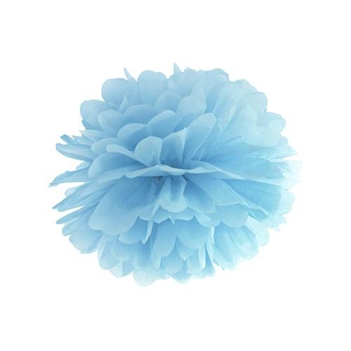 Pom poms - Pastell, Blå - 25 cm