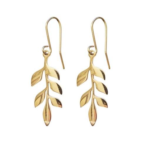 Örhängen, Frill - Pipol's Bazaar, Guld