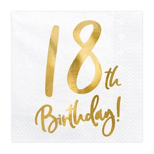 Servetter - Birthday, 18th Birthday