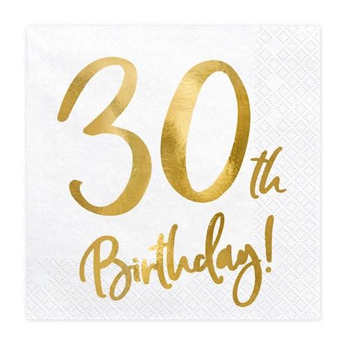 Servetter - Birthday, 30th Birthday