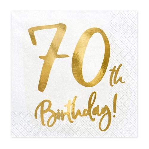 Servetter - Birthday, 70th Birthday