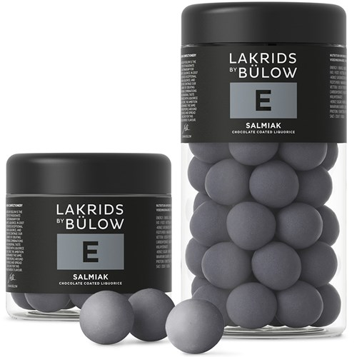 E - Salmiak - Lakrids by Bülow